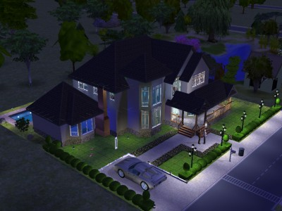 ideas for houses in sims 2 - house and home design